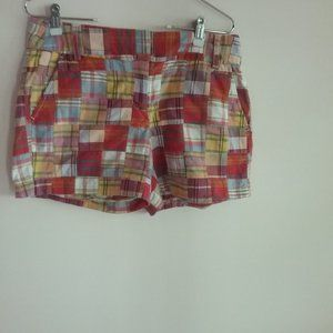 J. Crew Women's City Fit Red, Pink, Green, Shorts